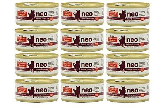 Hi-Tor 12 Pack of Veterinary Select Neo Diet for Cats
