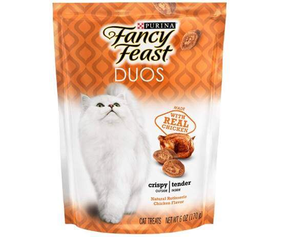 Purina Fancy Feast DUOS Natural Rotisserie Chicken Flavor