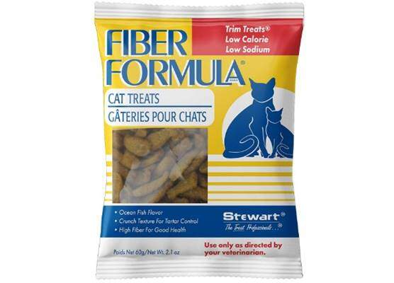 Stewart Fiber Formula Cat Treats