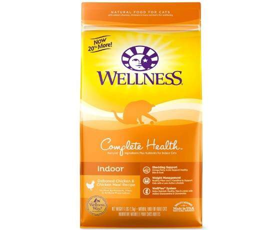 Wellness Complete Health Natural Dry Cat Food Indoor Chicken