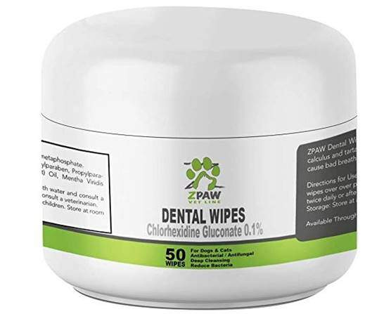 ZPAW Dental Wipes for Dogs and Cats