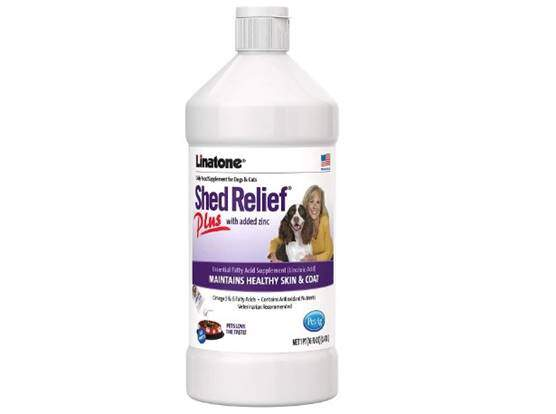Linatone Shed Relief Skin Coat Liquid Supplement for Dog Cat