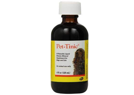 Pfizer Animal Pet-Tinic Vitamin-Mineral Supplement for Dogs and Cats