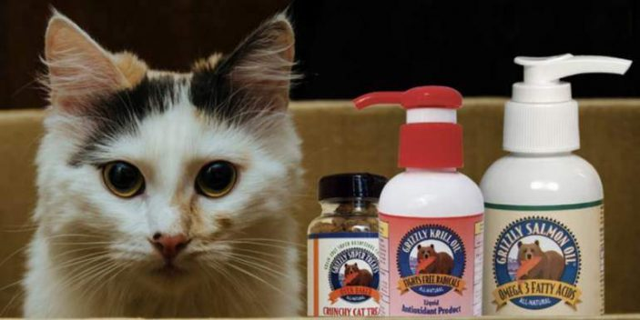 Krill oil for cats