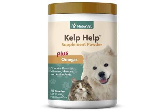 NaturVet – Kelp Help Supplement Powder - Plus Omegas