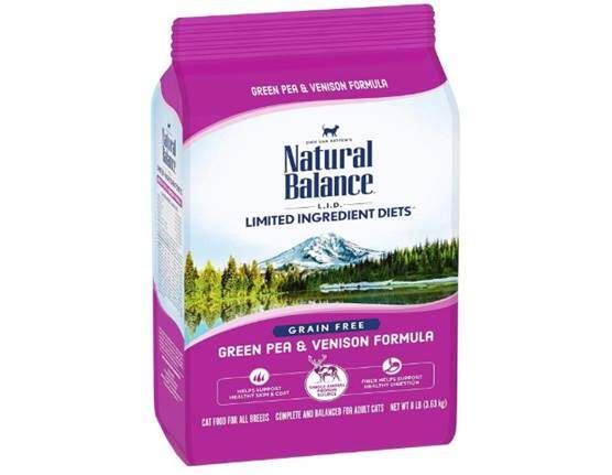 Natural Balance L.I.D. Limited Ingredient Diets Dry Cat Food, Dry