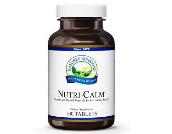 Nature's Sunshine Nutri-Calm, 100 Tablets