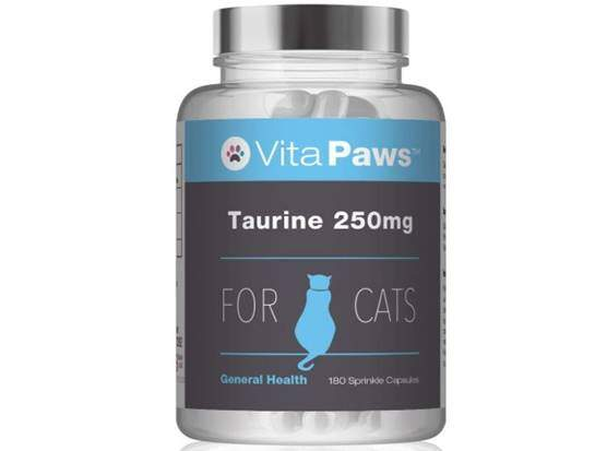 Taurine 250mg for Cats by VitaPaws™