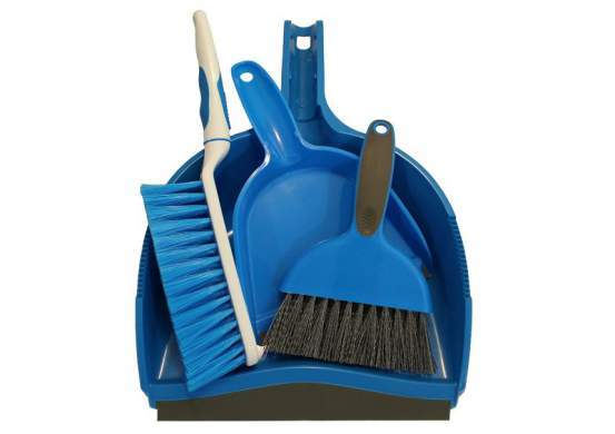 Dustpan and Brush set from Travel Ez