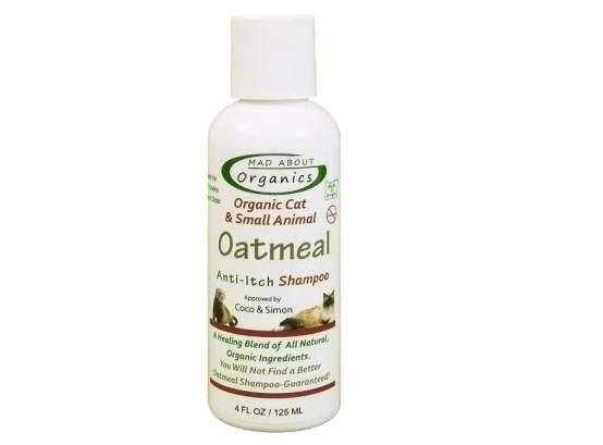 Mad About Organics Cat Oatmeal Shampoo