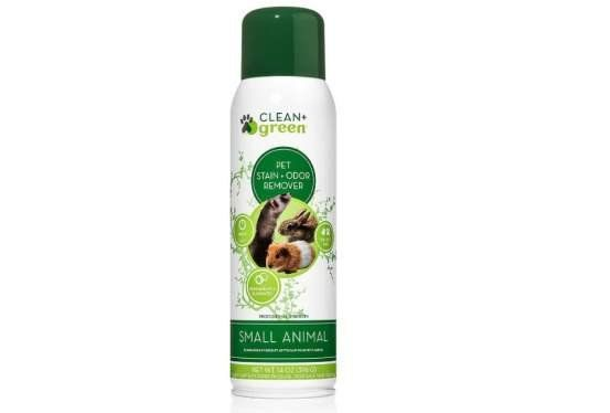 Professional Strength Cleaner, Stain Remover, Deodorizer, Odor Eliminator for Small Animals
