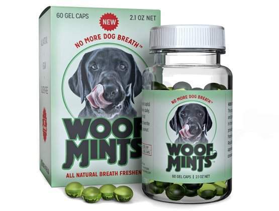 Woofmints All Natural Breath Freshener for dogs