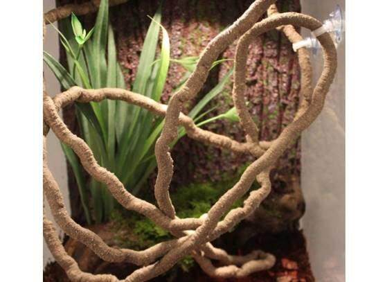 EONMIR 8-Foot Reptile Vines, Flexible Jungle Climber Long Vines