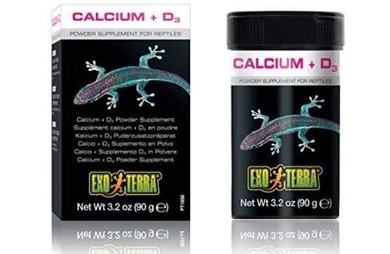 Exo Terra Reptile Calcium + D3