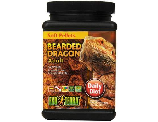 Exo Terra Soft Adult Bearded Dragon Food