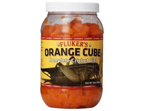 Fluker's 71300 Orange Cube Complete Cricket Diet,