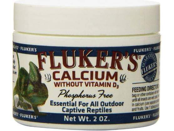 Fluker's 73015 Reptile Calcium Supplement Without Vitamin D3
