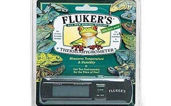 Fluker's Digital Thermometer Hygrometer for Reptiles