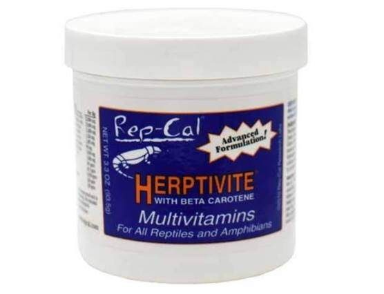 HERPTIVITE Multivitamin for reptiles and amphibians (3.3 oz) Blue Bottl