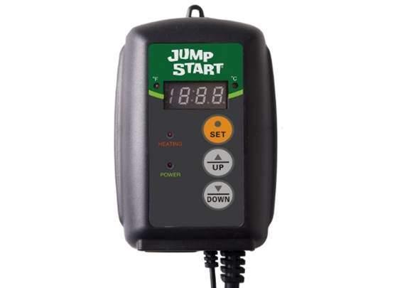 Hydrofarm Jump Start MTPRTC Digital Controller Germination Heat Mat Thermostat