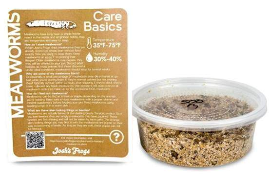Josh's Frogs Mealworms