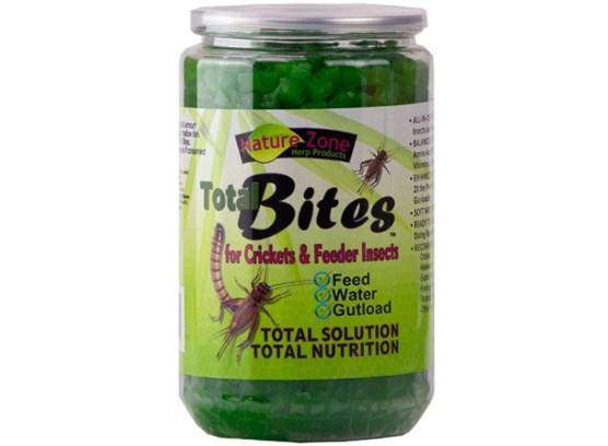 Nature Zone Total Bites for Crickets & Feeder Insects, Soft Moist Food