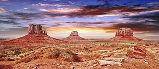 Reptile Habitat, Terrarium Background, Cool Desert Sky