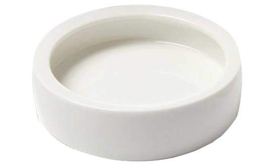 SLSON Reptile Feed Feeder Food or Water Ceramics Bowl Tray Worm Dish Mealworm Dish