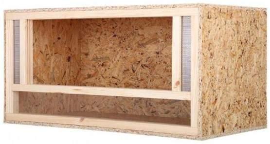 Wooden terrarium