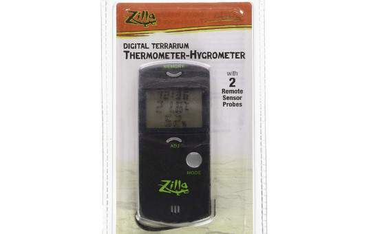 Zilla Digital Hygrometer-Thermometer