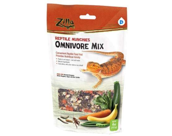 Zilla Reptile Munchies Mix Treat- Omnivore mix