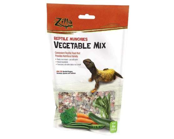 Zilla Reptile Munchies Mix Treat - Vegetable mix