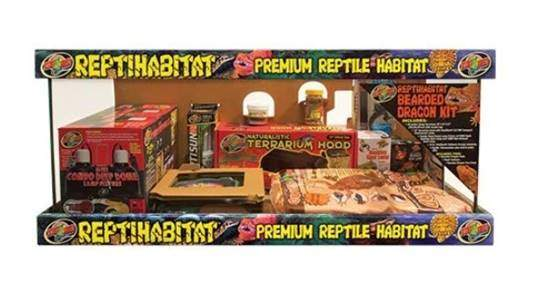 Zoo Med 26323 Reptihabitat Bearded Dragon Kit