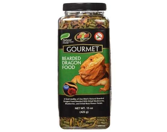 Zoo Med 5118 Gourmet Bearded Dragon Food, 15 oz
