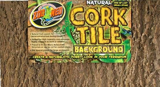 Zoo Med Cork Tile Background Terrarium