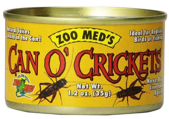 Zoo Med Laboratories SZMZM41 Can O Crickets Pet Food