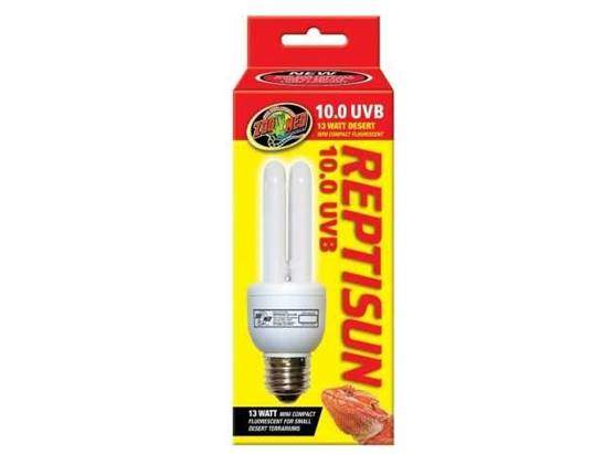 Zoo Med ReptiSun 10.0 Mini Compact Fluorescent Lamp