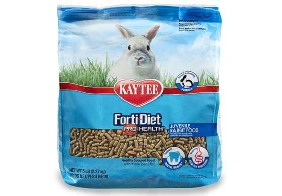 Kaytee Forti Diet Pro Health Rabbit Food for Juvenile Rabbits