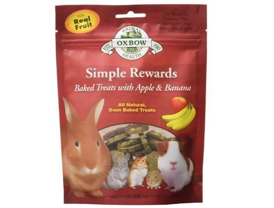 Oxbow Simple Rewards Apple and Banana Baked Treat