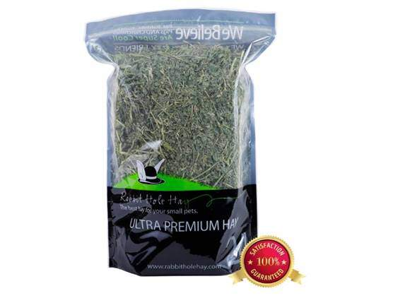 Rabbit Hole Hay Ultra-Premium, Hand Packed Alfalfa