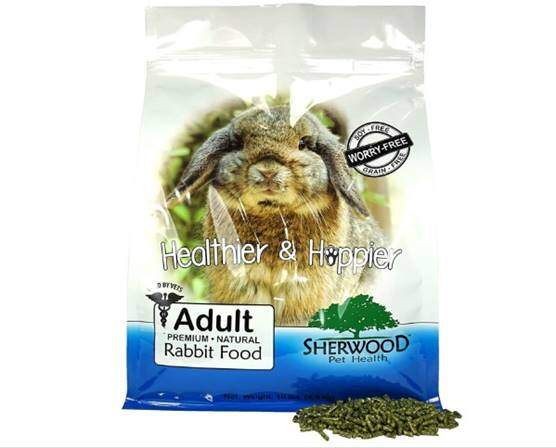 Sherwood Pet Health Baby Rabbit Food, 4.5 lb. - (Soy, Corn & Wheat-Free) - (Vets Use)