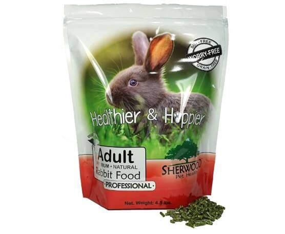 Sherwood Pet Health Professional Adult Rabbit Food (4.5 lb)