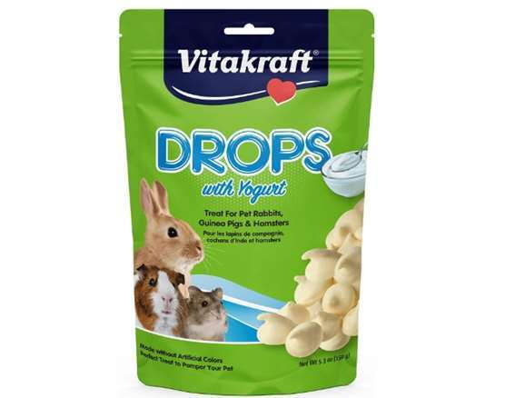 Vitakraft Rabbit Drops with Yoghurt