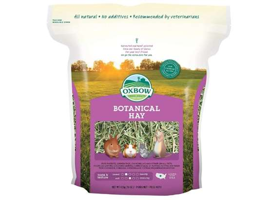 Oxbow Botanical hay for rabbits
