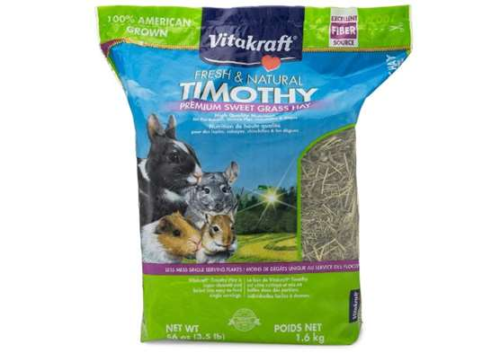Vitakraft Timothy Hay, Premium Sweet Grass Hay, 100% American Grown