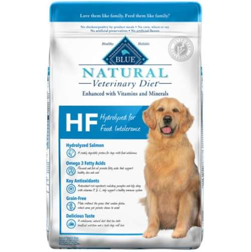 Blue Natural Veterinary Diet Hydrolyzed for Food Intolerance Dry Dog Food