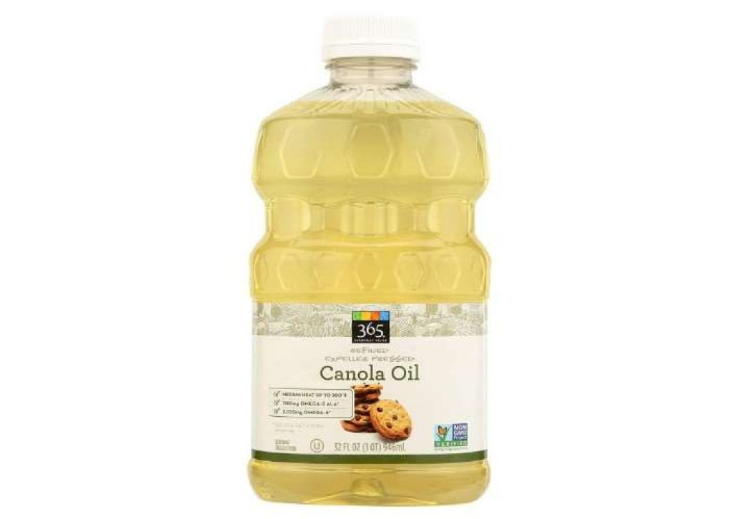 Canola oil in dog foods