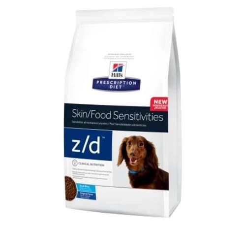 Hill's Prescription Diet z-d Skin Food Sensitivities Small Bites Original Dry Dog Food