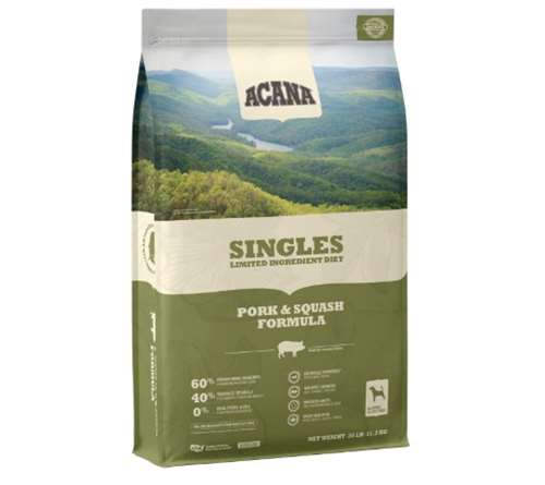 Acana Singles Limited Ingredient Dry Dog Food Pork and Squash Formula