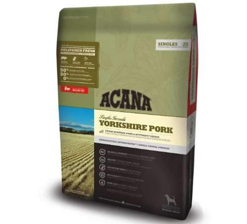 Acana Yorkshire Pork Dog Food, 11.4 kg